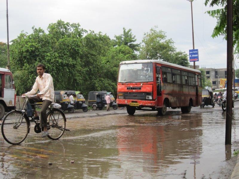 Monsoon in Aurangabad