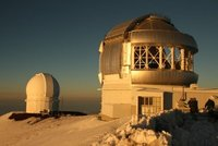 2 of the 14 Observatories on Mauna Kea