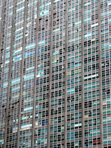 Flatgebouw in Centro, hier wonen vermoedelijk mensen