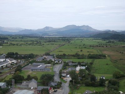 View from Harlech