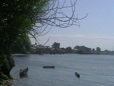 Boats at Wasini