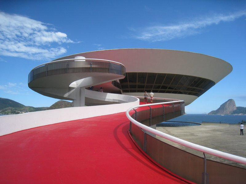 Niemeyer´s Contemporary Art Museum in Niteroi
