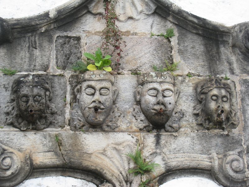 Wall Fountain in Ouro Prêto