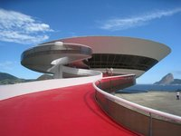 Niemeyer´s Contemporary Art Museum in Niteroi