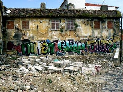 Graffiti in Portugal