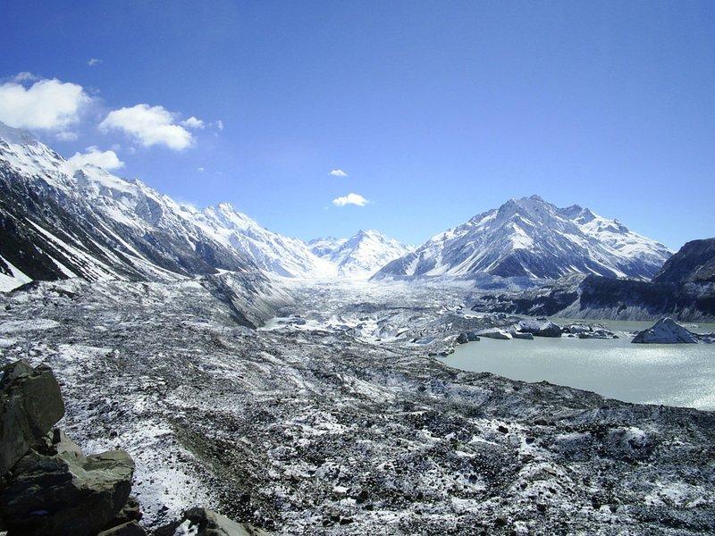 The Tasman Glacier