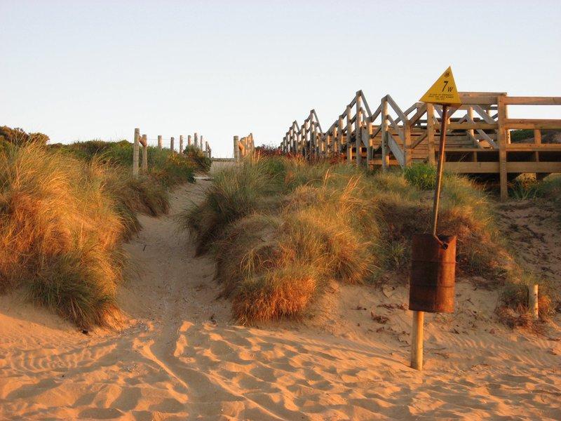 7W beach access at Ocean Grove