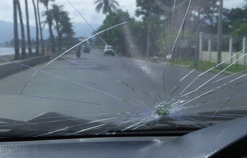 Windscreen damage