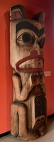 Traditional carving, Museum of Vancouver