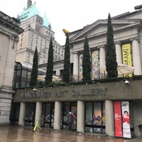 Vancouver Art Gallery entrance
