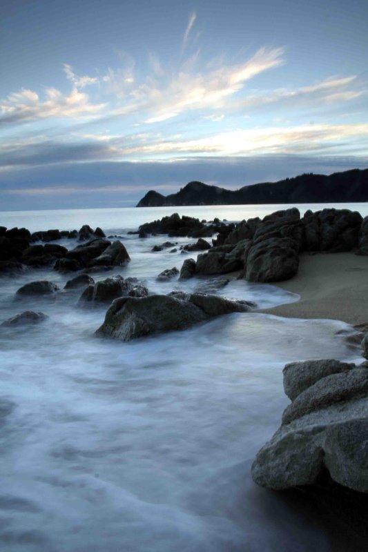 First Morning sunrise Abel Tasman