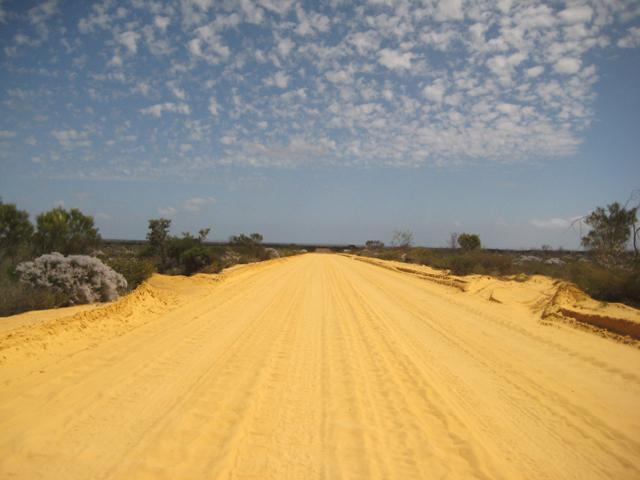 Sandy Road, Kalbarri
