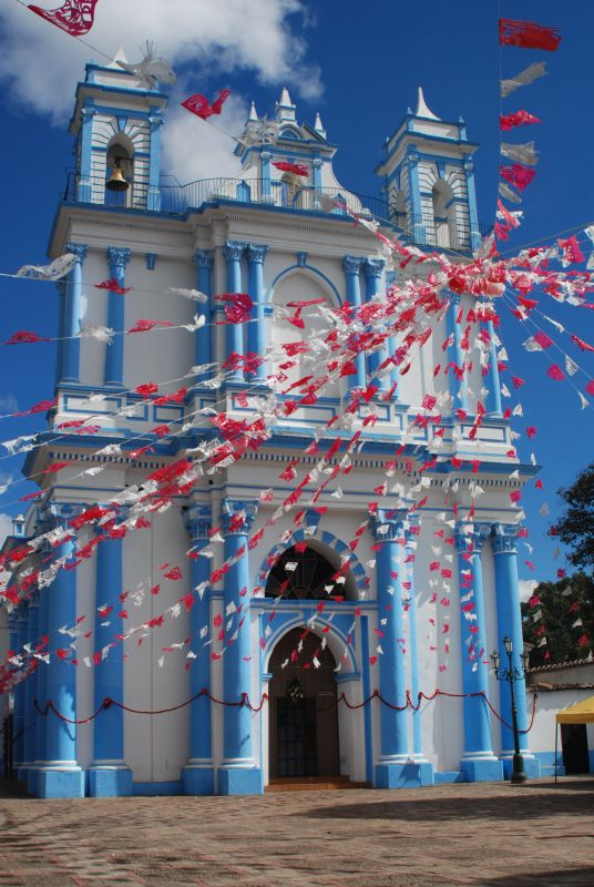 Blue Church in San Cristobal