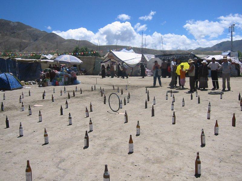 Carnival games Tibet