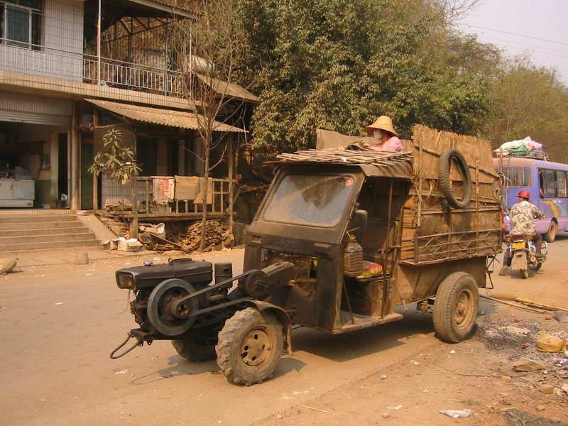 The local ride, rural China style