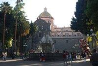 Fountain in the Zocalo