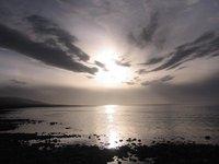 Sunset Over Qinghai Lake