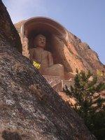 Large Buddha at Xumi Shan