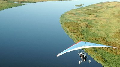 Airborne over the Zambezi