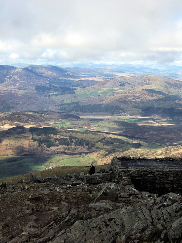 Cadair Idris Summit View
