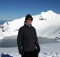 On Mt Ruapehu New Zealand