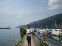 Harbour in Biel