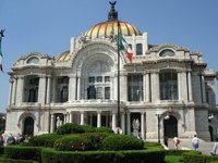 The Palace of Fine Arts & Theater, Mexico city