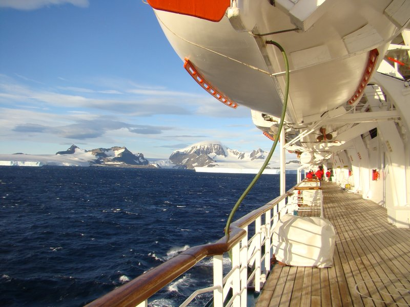 Antarctica From the Starboard Side