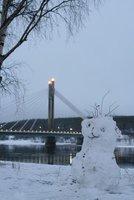 Rovaniemi town in Lapland