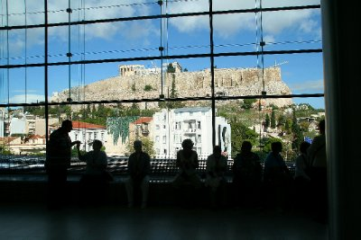 Acropolis from the Acropolis Museum
