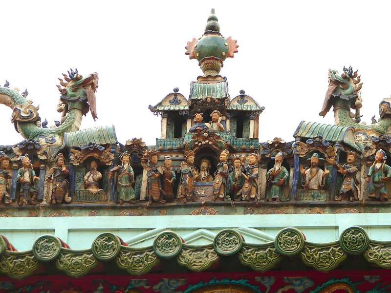 Roof decorations