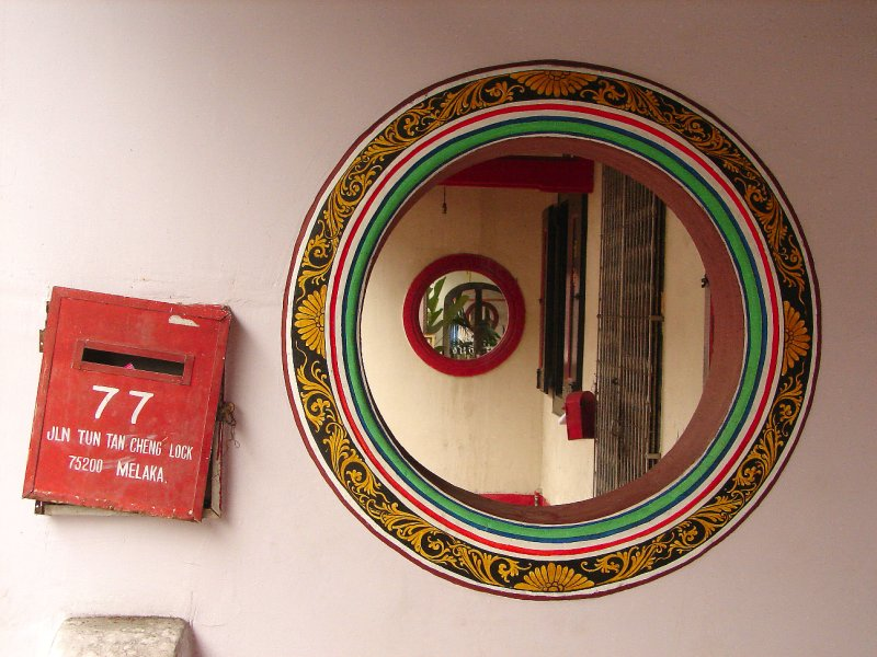 Portholes in the five-foot way