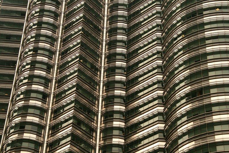 Petronas Towers, detail