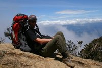 On the way up Kinabalu
