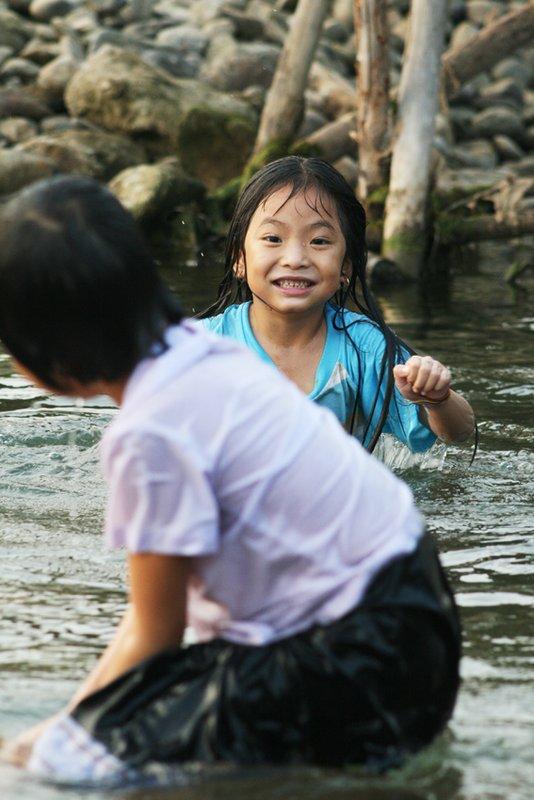 After school fun in Vang Vieng