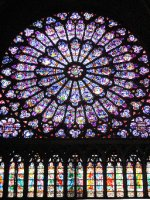 South Rose Window of Notre Dame de Paris