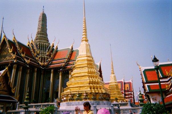 One monument in Wat Phra Kaeo