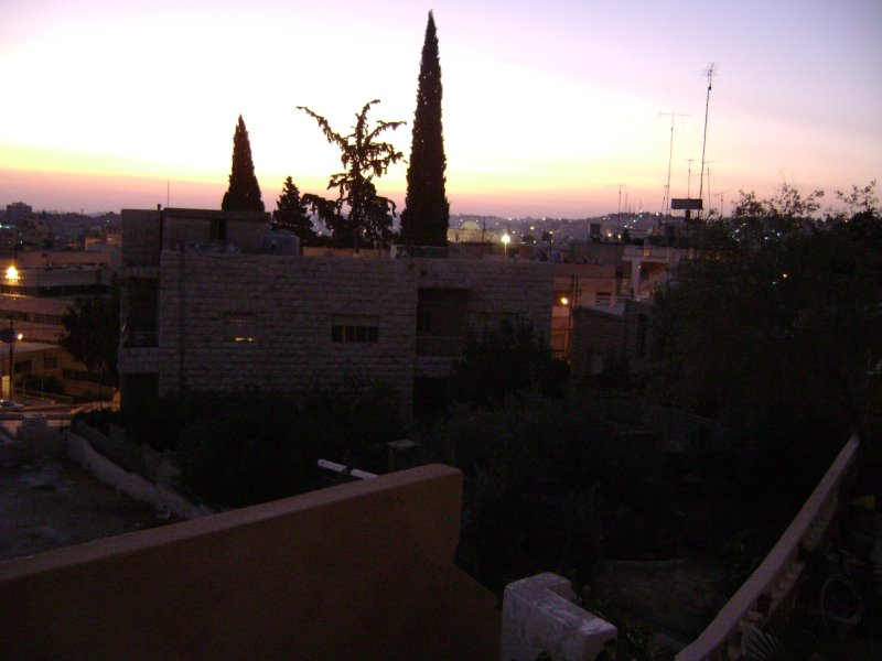 View from my terrace - eve