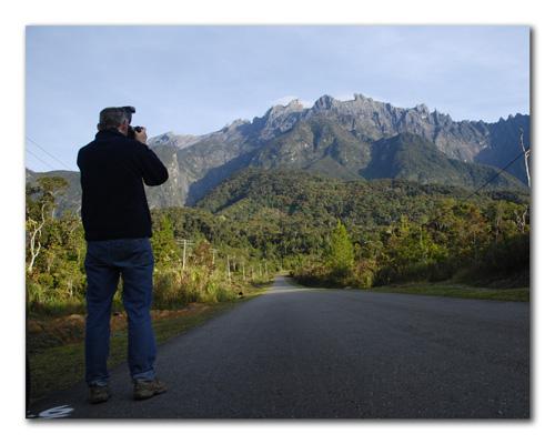 Photographing Mt. Kinabalu