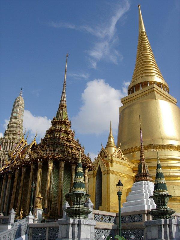 Pagoda at the Royal Palace Bangkok