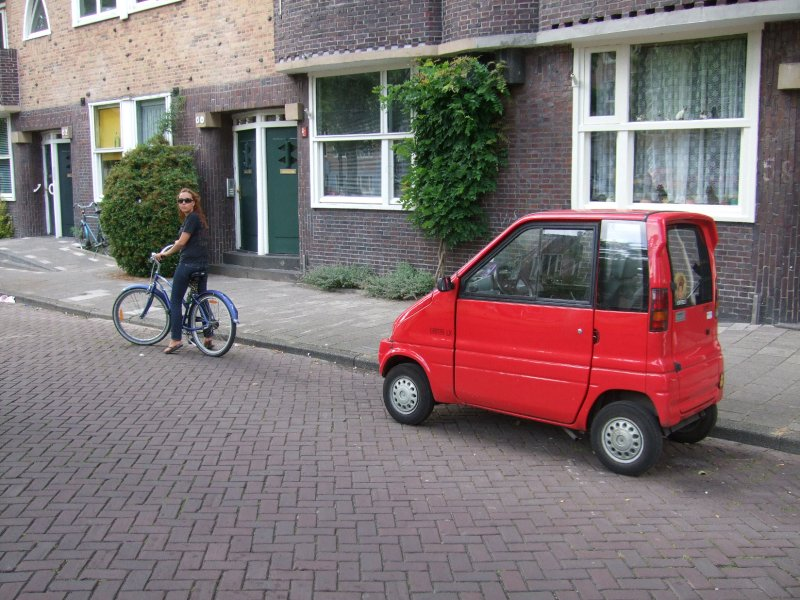 My Bike Ride in Amsterdam