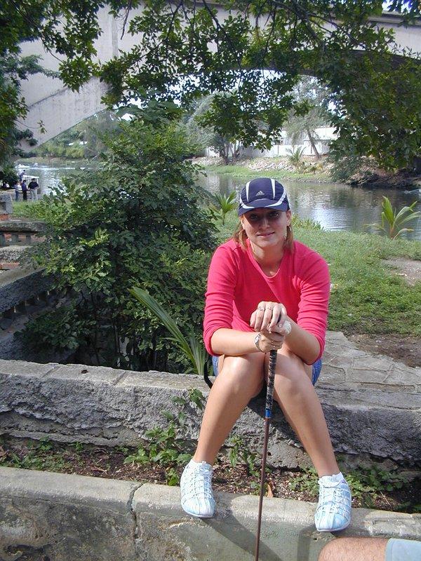 Descanso en el golfito