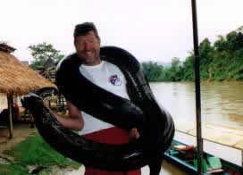 Me & a 55kg python