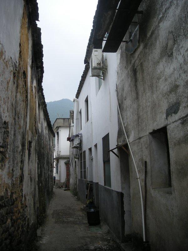 Longmen Alley way in China