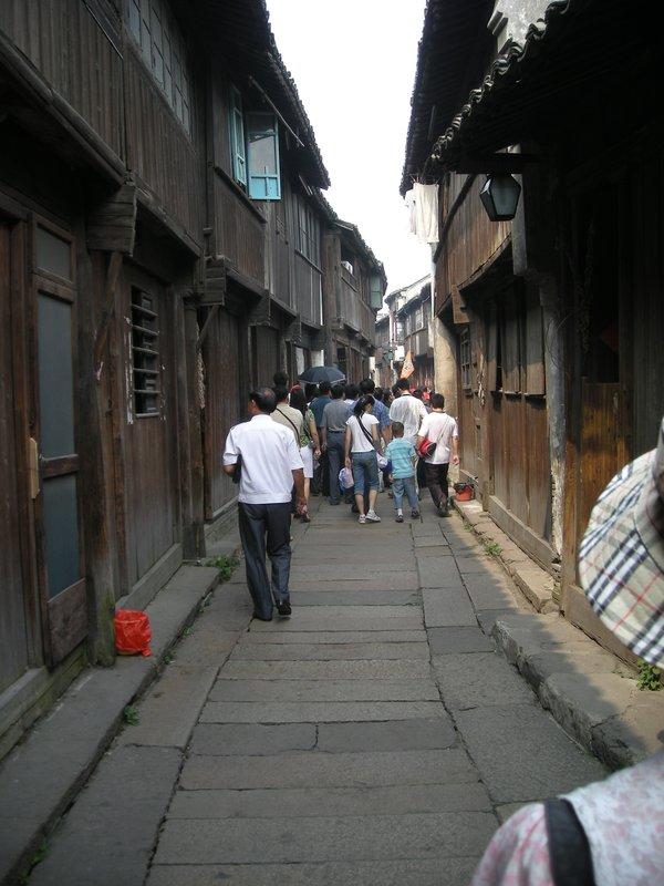 Alley ways in old Wuzhen