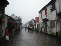Lu Xun Lu on a rainy day