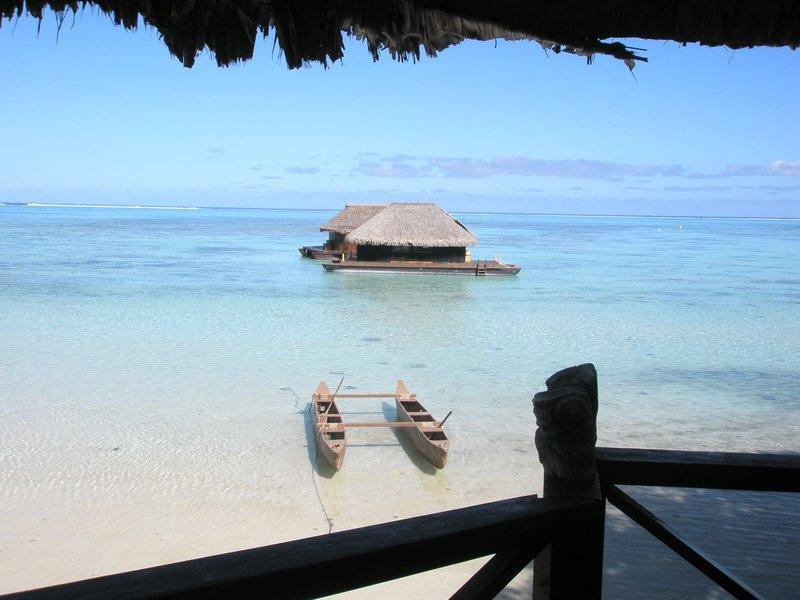 Outrigger in Mo'orea, French Polynesia