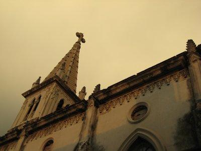 IMG_7746_Cuba_Cardenas_MC_San Antonio Church in at sundown
