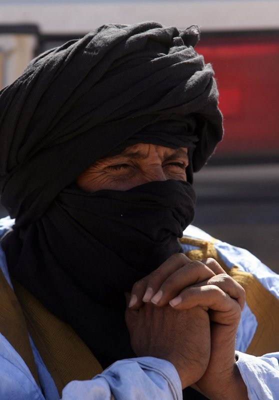 Tuareg nomad
