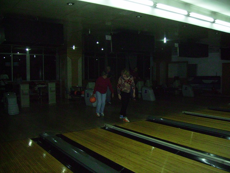 Barbara's Bowling Night